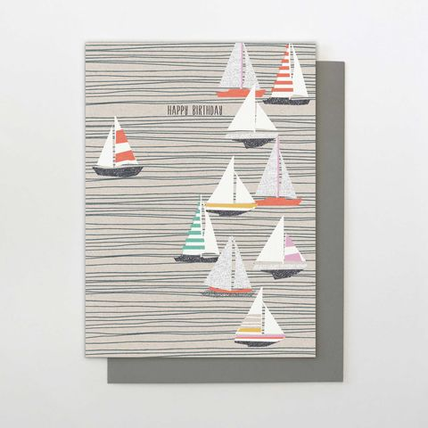 Sailing,Boats,Happy,Birthday,Card,buy birthday cards for him online, buy male birthday cards online, buy sailing birthday cards for men online, buy boats yachts seaside birthday cards online for him, buy birthday cards for sailor online, buy cards with boats onlinE