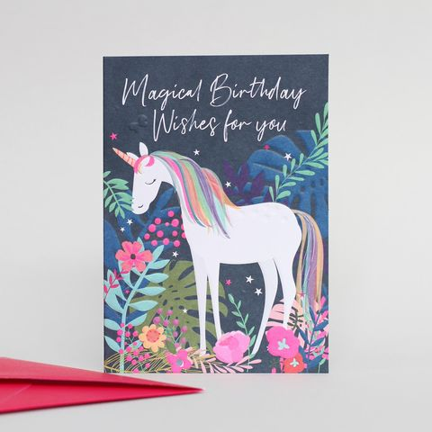 Unicorn,Magical,Birthday,Card,Buy belly button wild thing cards online, buy birthday cards with unicorns online, Buy magical unicorn  cards online, buy unicorn birthday cards online, buy pretty animal birthday cards for her, t