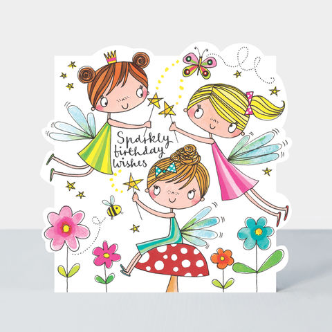 Fairies,Sparkly,Birthday,Wishes,Happy,Card,Buy fairy birthday cards for girls online, buy birthday card for little girls online, buy girls birthday cards online, buy cute birthday cards online, buy Rachel Ellen birthday cards, buy birthday. Cards with fairies online, buy magic cards online,