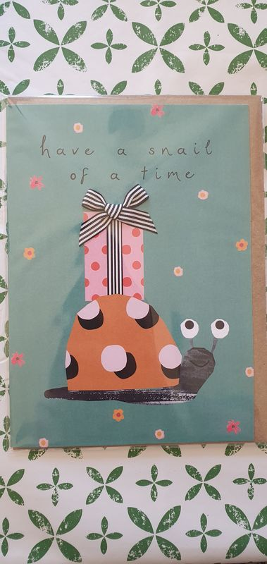Have A Snail Of A Time Birthday Card - product images  of
