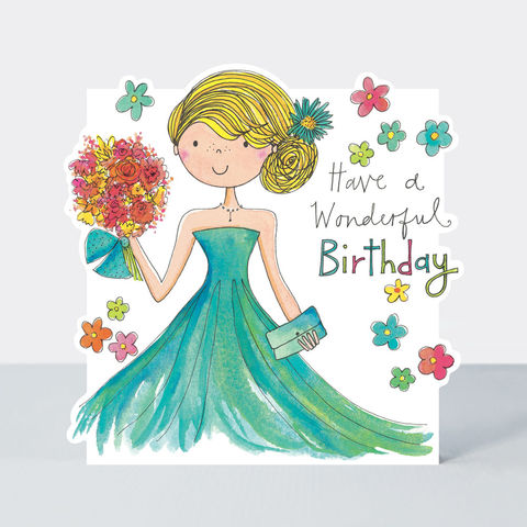 Have,A,Wonderful,Birthday,Girl,&,Flowers,Card,buy birthday card for her online, buy birthday girls birthday cards online, buy cute birthday cards online, buy Rachel Ellen birthday cards online, buy teenager birthday card online, buy girl and balloons birthday cards online