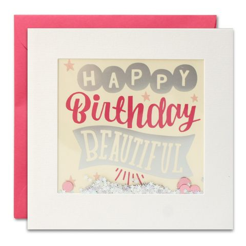 Shakies,Happy,Birthday,Beautiful,Card,buy shakies birthday card online, buy shakies birthday cards for her online, buy female birthday cards online, buy pink happy birthday beautiful cards online, pink girls birthday cards online, glittery birthday cards, birthday cards for females, birthday