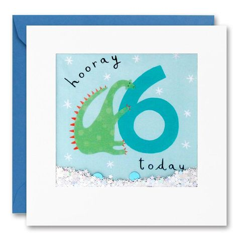 Shakies,Dinosaur,6,Today,Happy,Birthday,Card,buy shakies birthday cards online, buy dinosaur 6th birthday cards online for kids child boy girl, buy cute animal age six birthday cards online, buy dinosaur sixth birthday cards online, buy dinosaur 6th birthday card for boys online