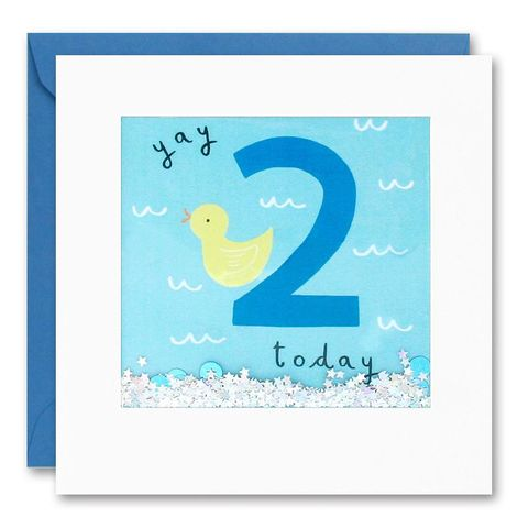 Shakies,Duck,2,Today,Happy,Birthday,Card,buy shakies birthday cards online, buy duck 2nd birthday cards online for kids child boy girl, buy cute animal age two birthday cards online, buy duck second birthday cards online, buy duck 2nd birthday card for boys online