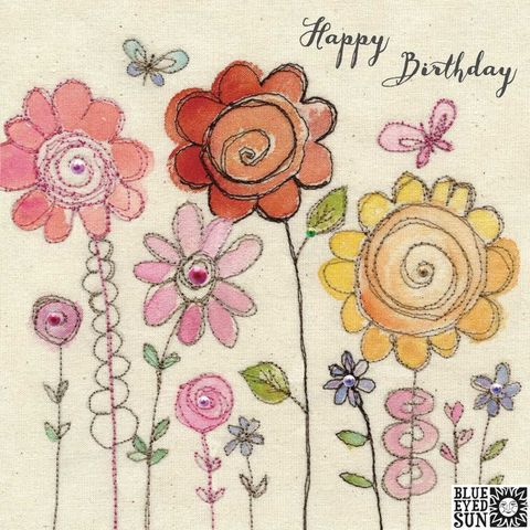 Flowers,&,Butterflies,Happy,Birthday,Card,buy butterfly cards online, buy pretty birthday card for her online, buy birthday cards with flowers and online, buy birthday cards for her online, buy pretty pink floral birthday cards for her online, buy shabby chic birthday cards for her online, female