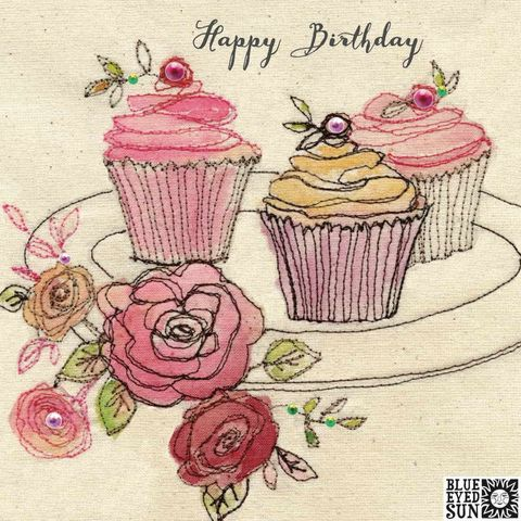 Birthday,Cupcakes,And,Flowers,Happy,Card,buy pretty birthday card for her online, buy birthday cards with cupcakes for her online, buy birthday cards for her online, buy pretty pink floral birthday cards for her online, buy shabby chic birthday cards for her online, female birthday car