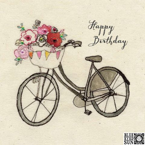 Bicycle,With,Basket,Of,Flowers,Birthday,Card,buy pretty birthday card for her online, buy birthday cards with bicycles online, buy birthday cards for her online, female birthday cards, girls birthday cards, floral birthday card, buy bicycle with basket birthday card online,