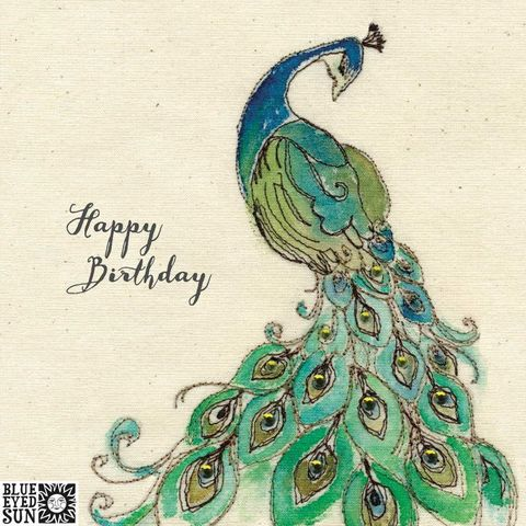 Beautiful,Peacock,Happy,Birthday,Card,buy pretty peacock birthday card for her online, buy birthday cards with peacocks online, buy birthday cards for her online, female birthday cards, girls birthday cards, buy bird birthday cards for her online,