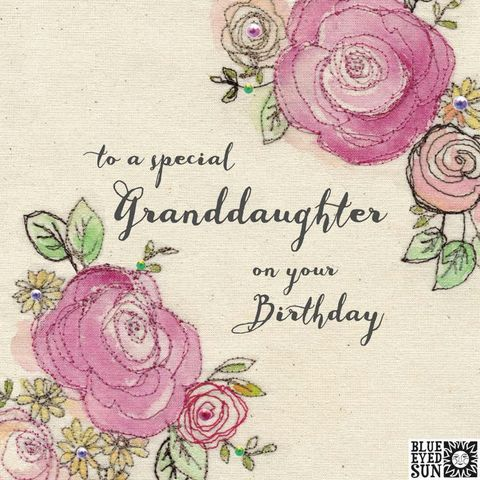 Floral,Special,Granddaughter,Birthday,Card,buy pretty birthday card for special granddaughter online, buy granddaughter birthday cards with flowers online, buy pretty pink birthday cards for special grand-daughter online from grandad nan grandma grandparents, buy pretty pink shabby chic birthday c