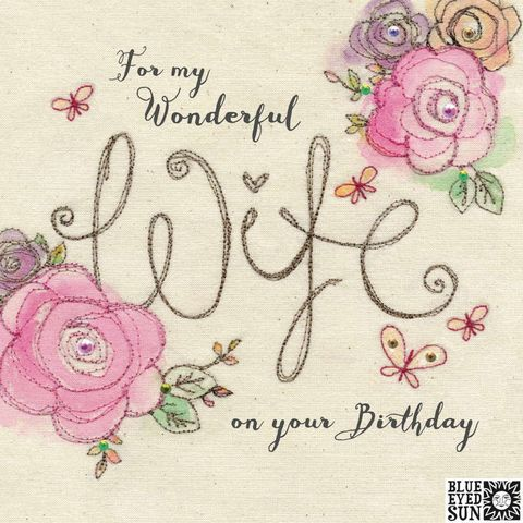 Floral,For,My,Wonderful,Wife,Birthday,Card,buy pretty birthday card for special wife online, buy wonderful wife birthday cards with flowers online, buy pretty pink birthday cards for special wives online from husband hubby wife husbands, buy pretty pink shabby chic birthday cards for wife