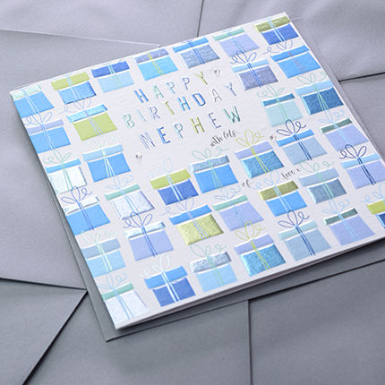 Nephew Birthday Presents Birthday Card - product images  of