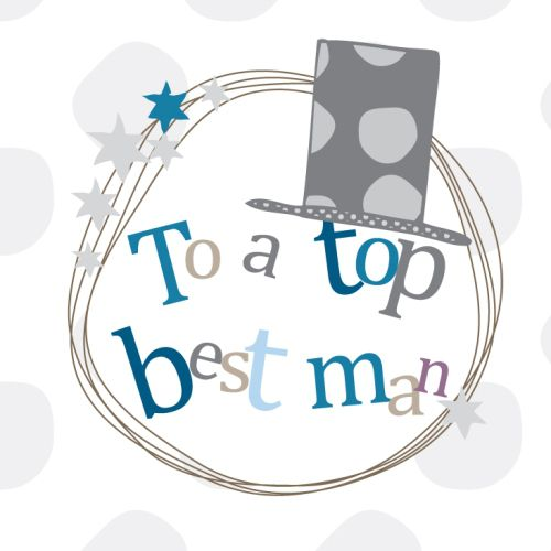 Top Best Man Thank You Card - product images  of