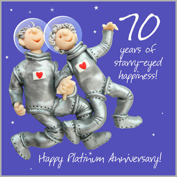 70th,Platinum,Wedding,Anniversary,Card,buy 70th anniversary card online, 70th wedding anniversary card, platinum anniversary card, card for 70th anniversary, seventieth anniversary card, wedding anniversary card, cards for annniversaries, card for wedding anniversary