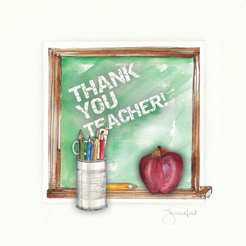 Teacher Thank You Card - product images