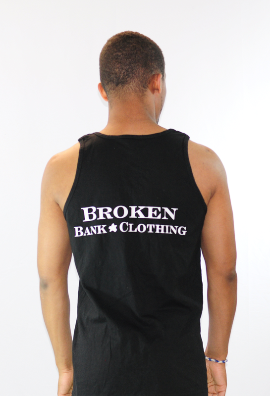 Broken Bank Logo Tank outline - product images  of
