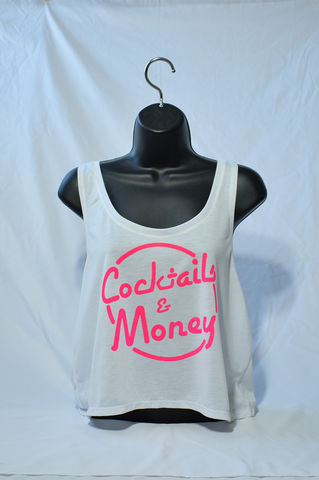 COCKTAILS,&,MONEY,CROP,cocktails and dream, cocktails & dreams, money, cocktails, prettybank, womens streetwear, fashion, womens fashion, BROKEN BANK CLOTHING, broken bank