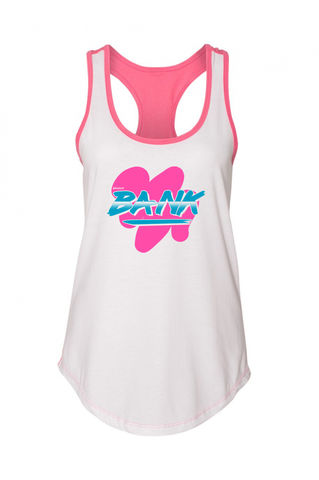 BANK,Miami,Night,Racerback,Tank,racerback tank, tank top, air max 90 south beach, air max 1 watermelon, air max 97 south beach, broken bank, broken bank clothing