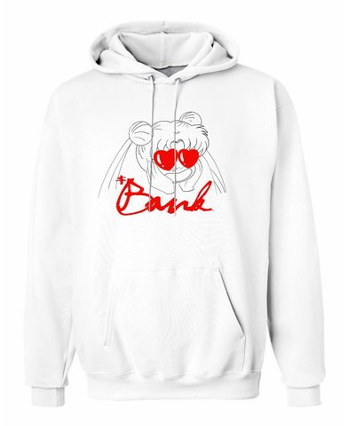 Bank,Love,Hoodie,Sailor moon, anime, Japan anime, hoodie