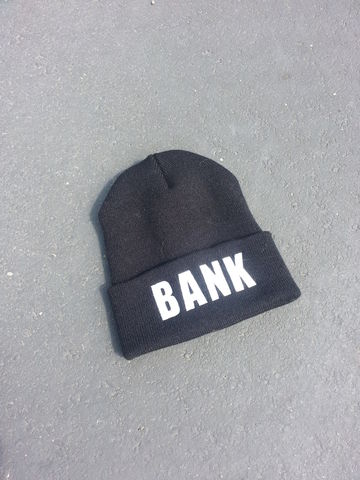 BANK,Beanies,(sold,out),beanie, asap rocky, A$AP, hypebeast, hat, new era, crooks