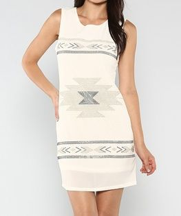 Tribal Shift Dress - product images  of