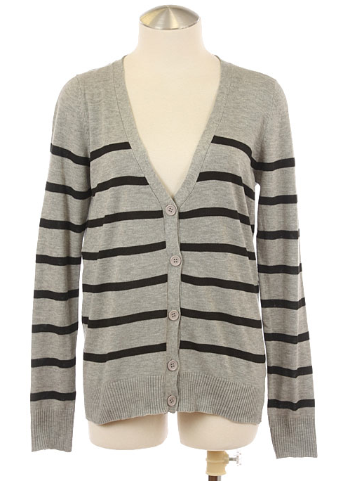 Stripe Boyfriend Cardigan - product images