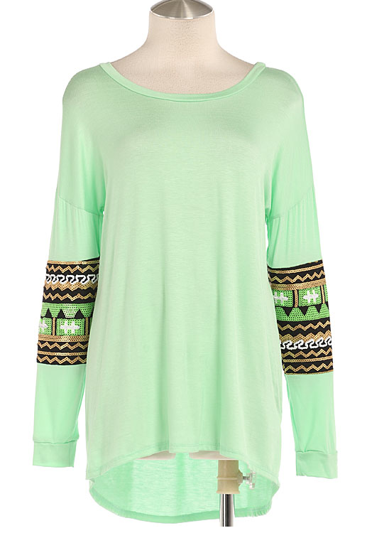 Sequin Tribal Tunic - product images  of