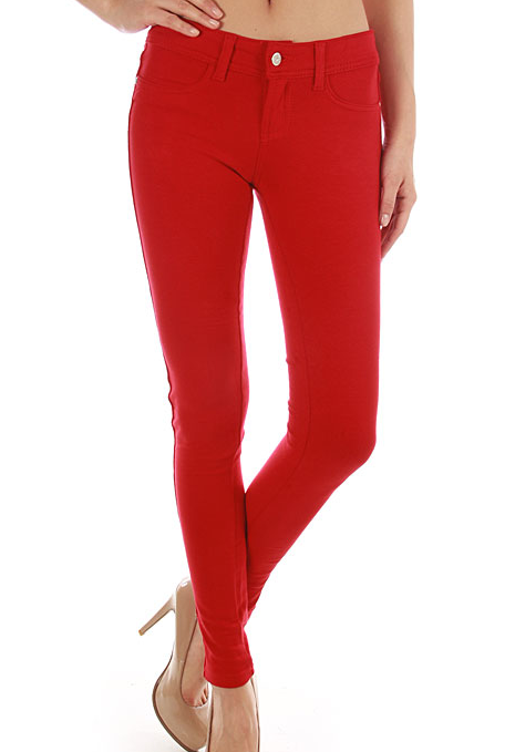 Skinny Jeggings - Peach - product images  of