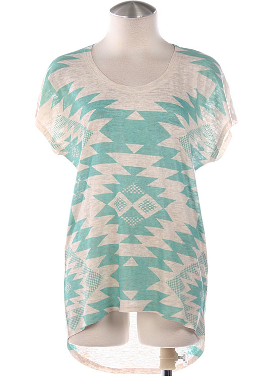 Tribal Mint Tee - product images  of
