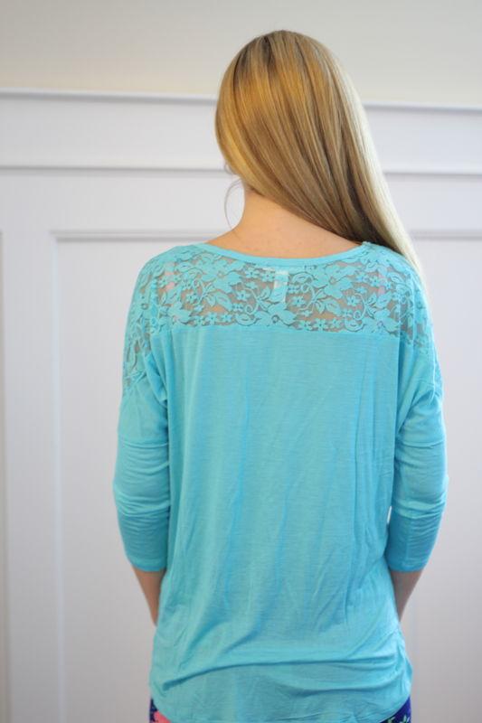 Lounge in Lace Top - product images  of
