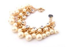 Double Cluster Pearl Bracelet - product images
