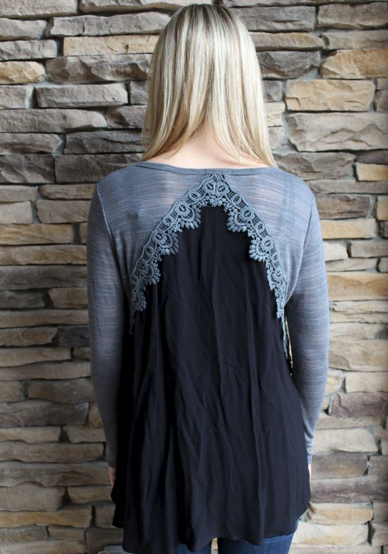 Lace Around the Block Top - product images  of
