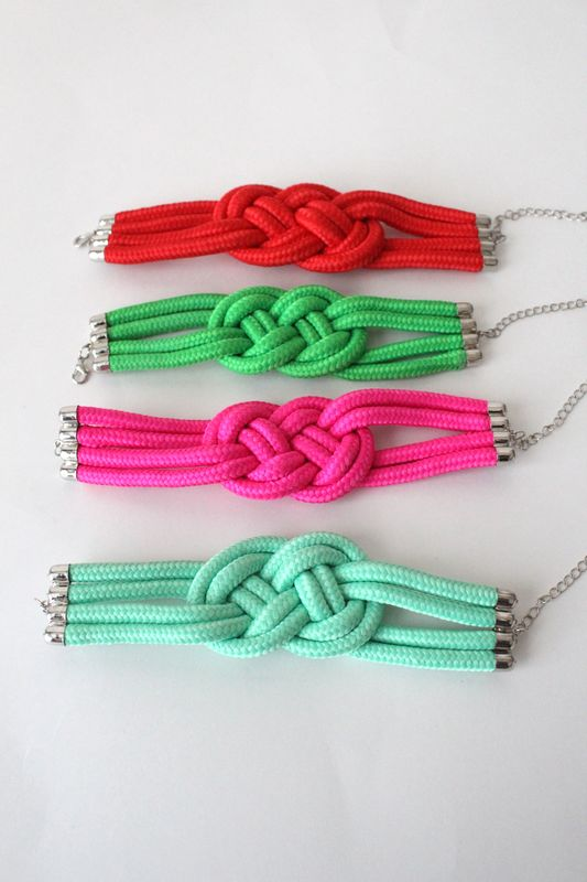 Braided Rope Bracelet - product images  of