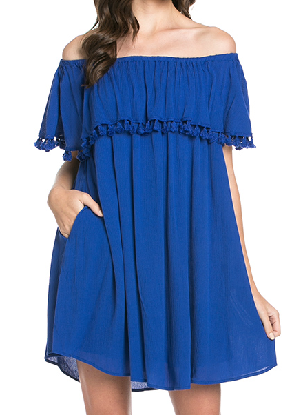 Summer Loving Dress - Blue - product images
