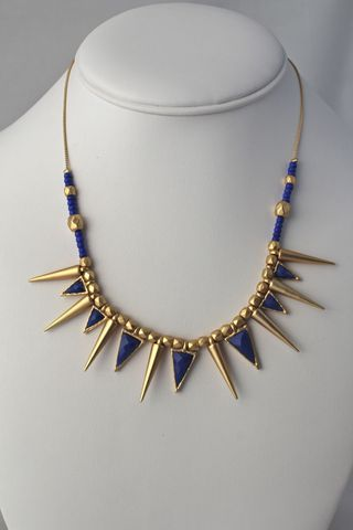 Spiked,Tribal,Necklace,(Was,$21,,now,$10)