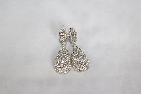 Crystal,Drop,Earrings,(Was,$14,,now,$10)
