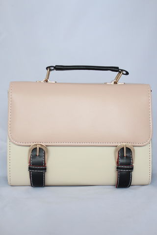 Pink,Flap,Satchel