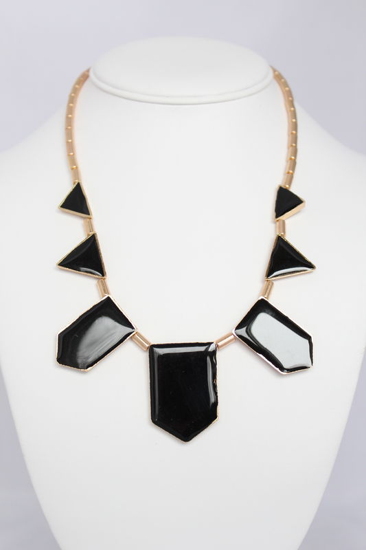 Black Triad Necklace (Was $21, now $12) - product images