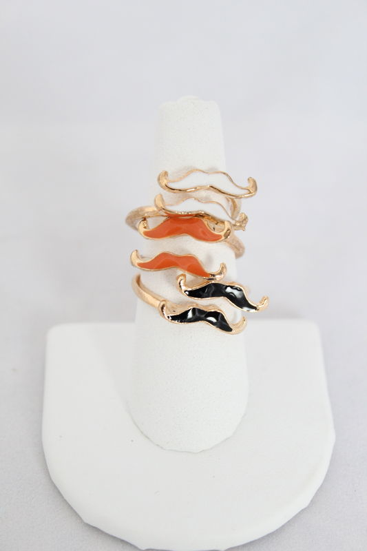 Mustache Ring - More Colors (Was $12, now $5) - product images  of
