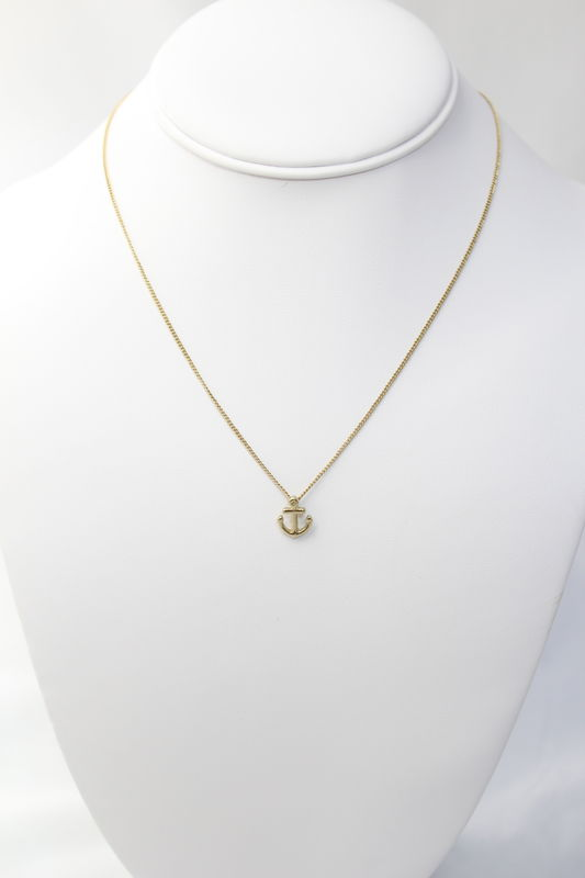 Anchor Pendant Necklace   - product images  of