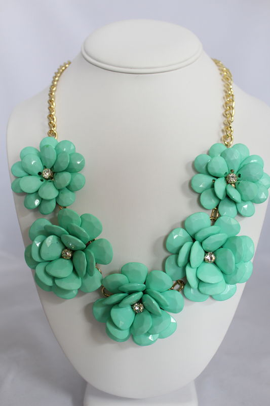Flower Power Necklace (Multiple colors) - product images  of