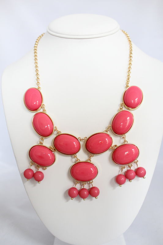 Fringe Bauble Set - Pink   - product images  of