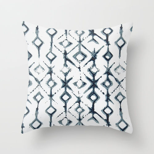 Tribal Indigo Pillow Cover - product image