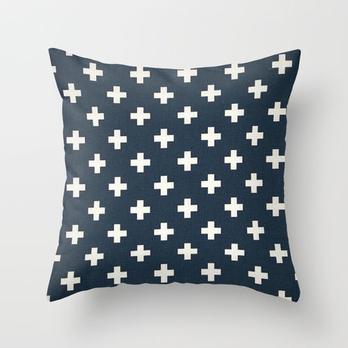 Swiss Cross Pillow Cover - product image