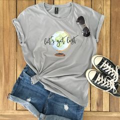 Globe,Traveler,Graphic,Tee,travel t-shirt, globe tshirt, graphic tee, let's get lost, world traveler,