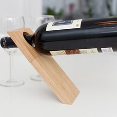 Illusion,Wine,Stand,wine stand, kikkerland, illusion wine stand, wine lovers gift