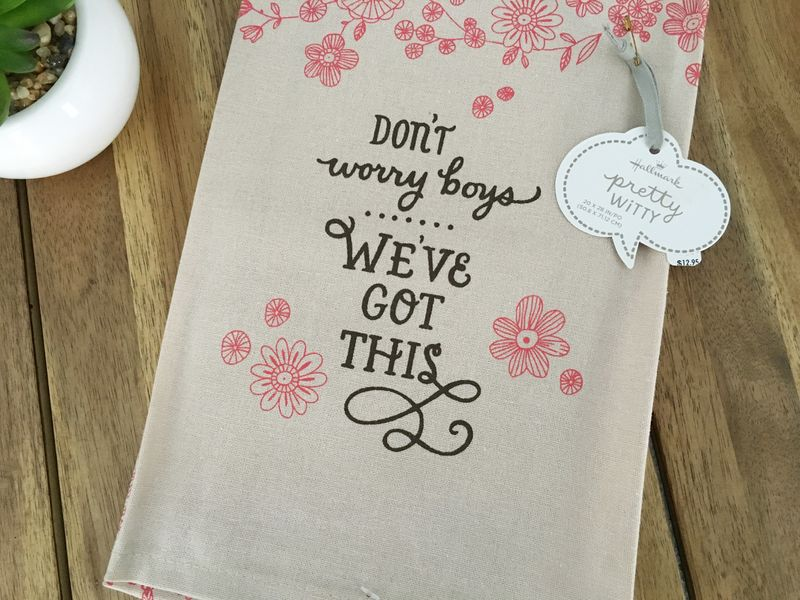 Don't Worry Boys Dishtowel - product images  of