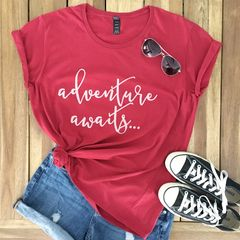 Adventure,Awaits,Graphic,Tee,travel t-shirt, globe tshirt, graphic tee, adventure awaits, world traveler,