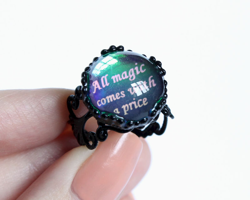 All magic comes with a price ring (OUAT) - product images  of