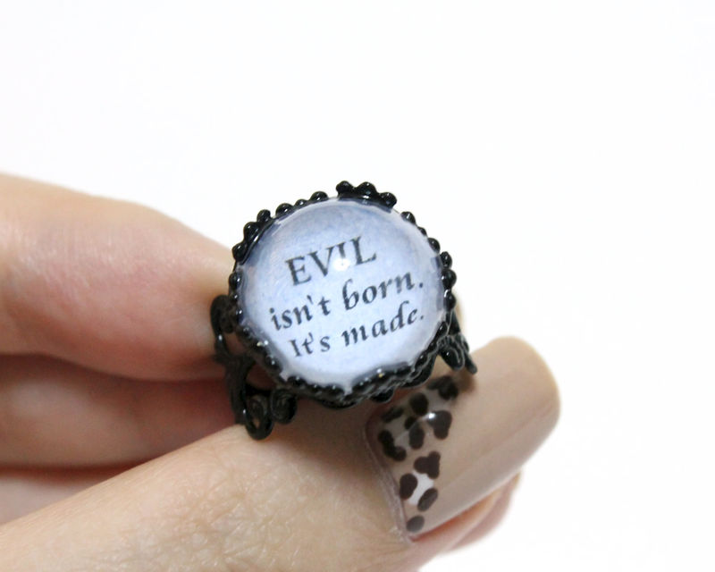 Evil isn't born ring (OUAT) - product images  of