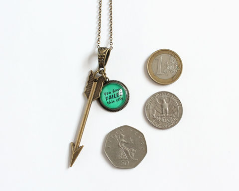 Arrow Necklace and Earring (Arrow) - product images  of